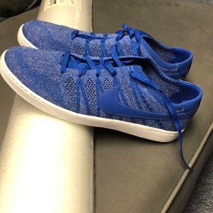 Men's Size 13 Blue Nike Tennis Classic Flyknit